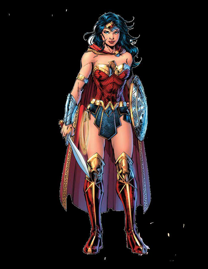 Wonder Woman PNG Images.
