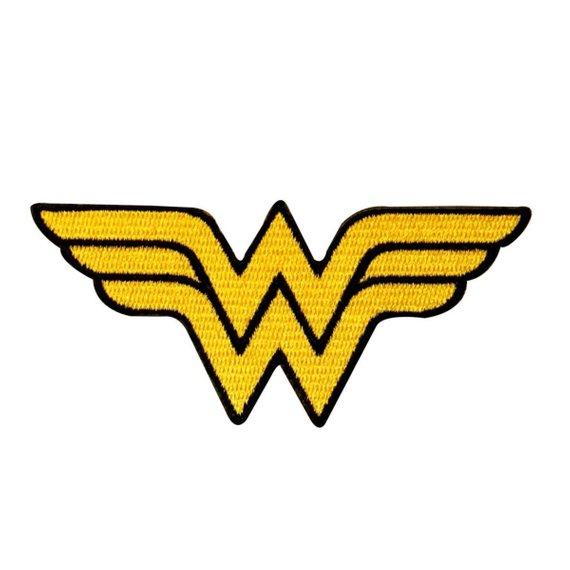 Wonder Woman Symbol Patch Superhero Costume Emblem DC Comics Iron.