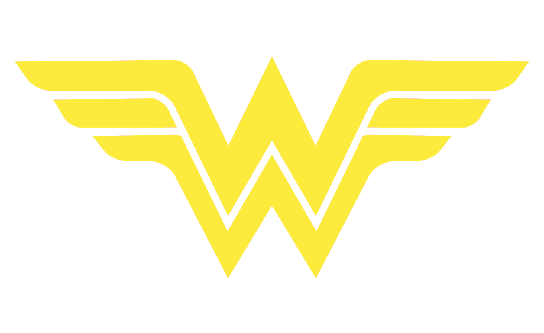 Wonder Woman Logo Drawing.