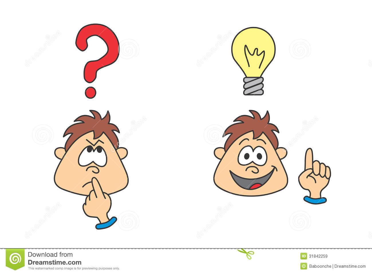 Showing post & media for Wondering clip art cartoon.