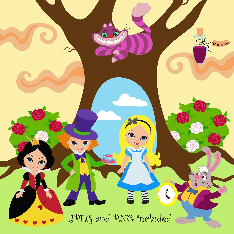 Wonderland Clipart.