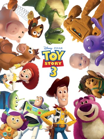 Toy Story 3 Storybook.
