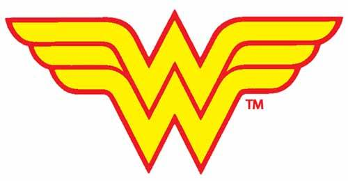 Wonder Woman Logo Clip Art.