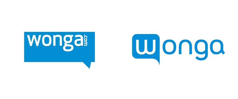 Brand New: New Logo for Wonga.