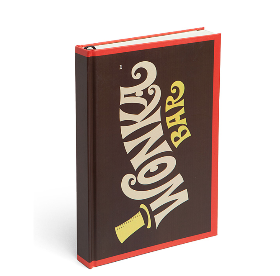 WILLY WONKA BAR JOURNAL.