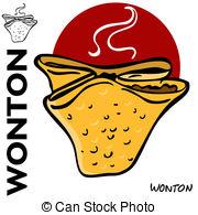 Wonton Vector Clipart EPS Images. 39 Wonton clip art vector.