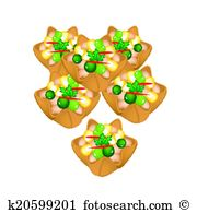 Fried wonton Clip Art Vector Graphics. 13 fried wonton EPS clipart.