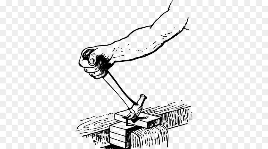 Hammer Cartoon clipart.
