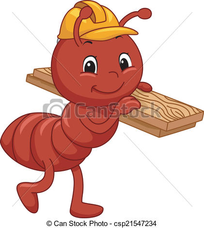 Worker ants Clipart and Stock Illustrations. 508 Worker ants.