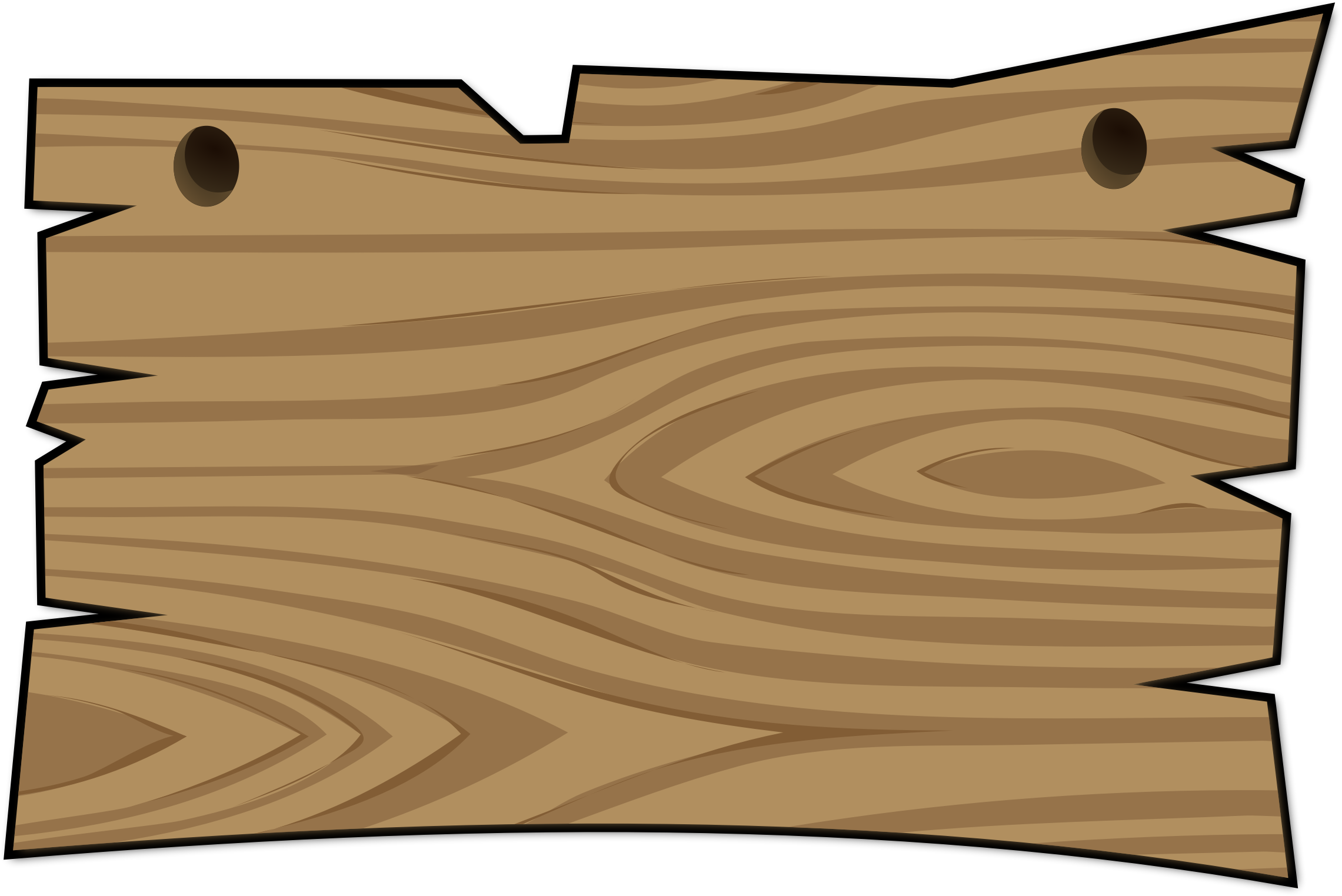 Wood sign clip art.