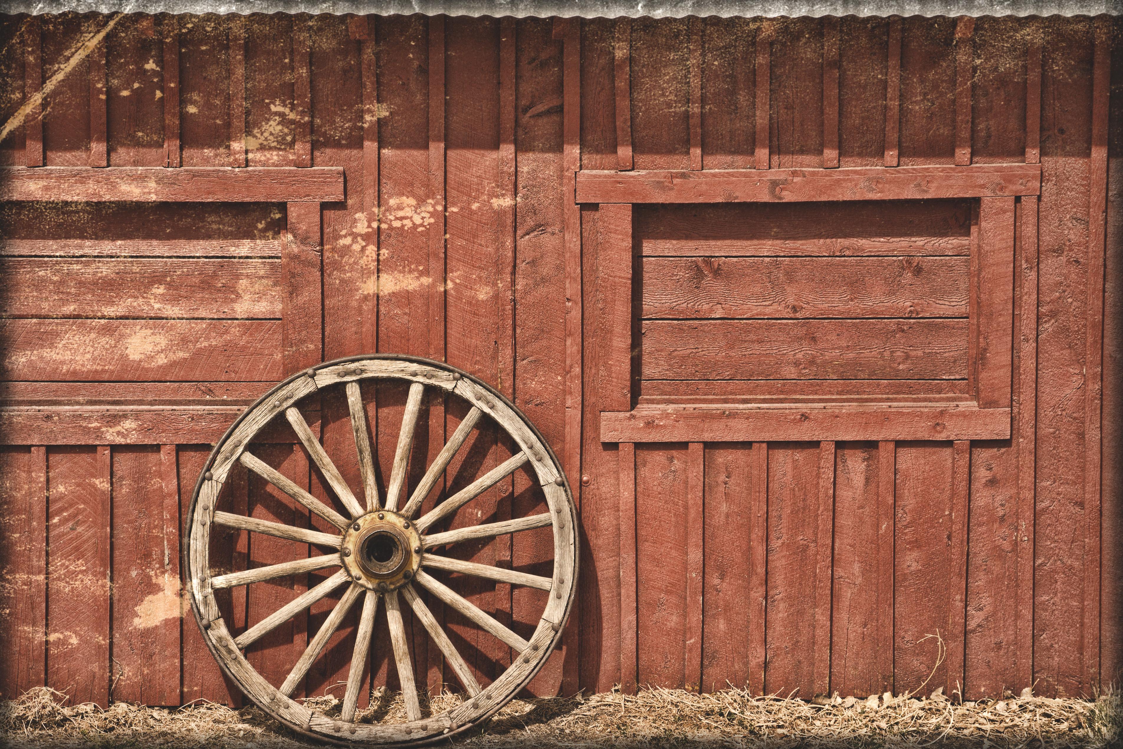 Rustic Barn Clipart.
