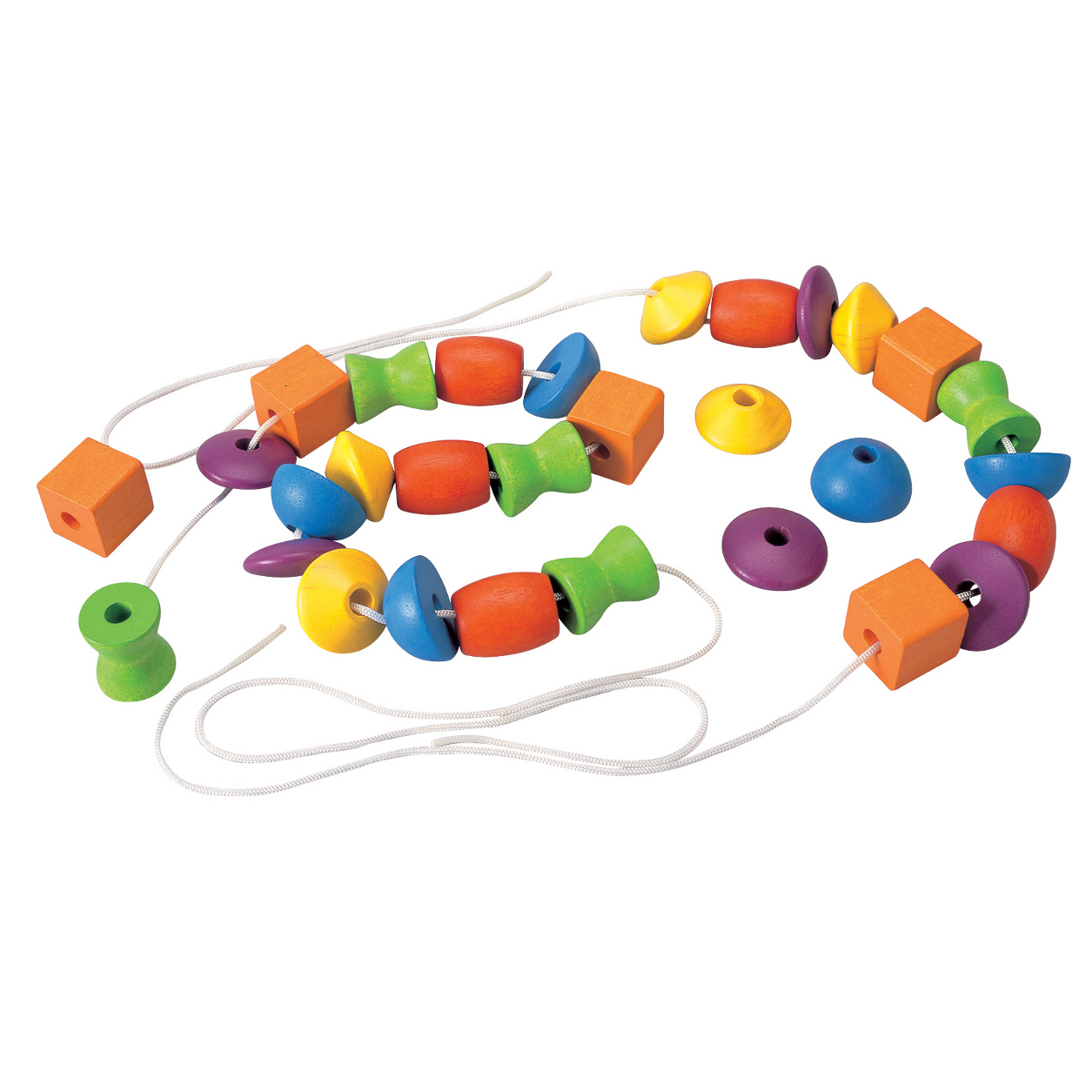 Lacing Beads Wooden Educational Toy #JyoPUA.
