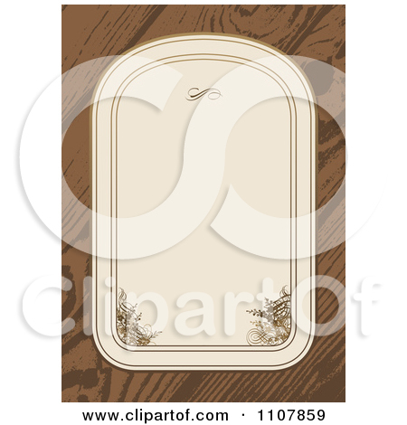 Clipart of Black Gray and Brown Grungy Wood Panels.