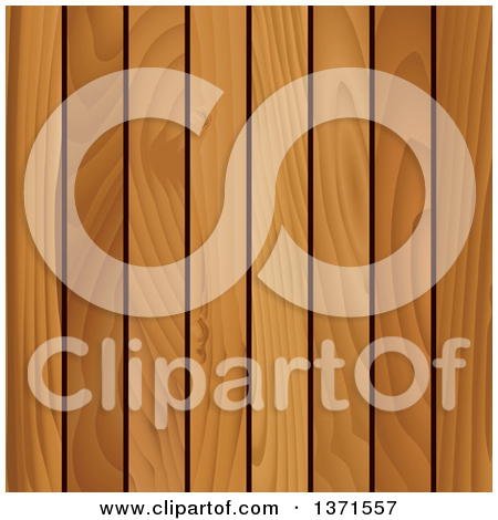 Clipart of a Wood Boards and Logs.