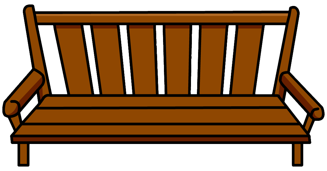 Lobby Bench Clip Art ~ Wood bench clipart clipground