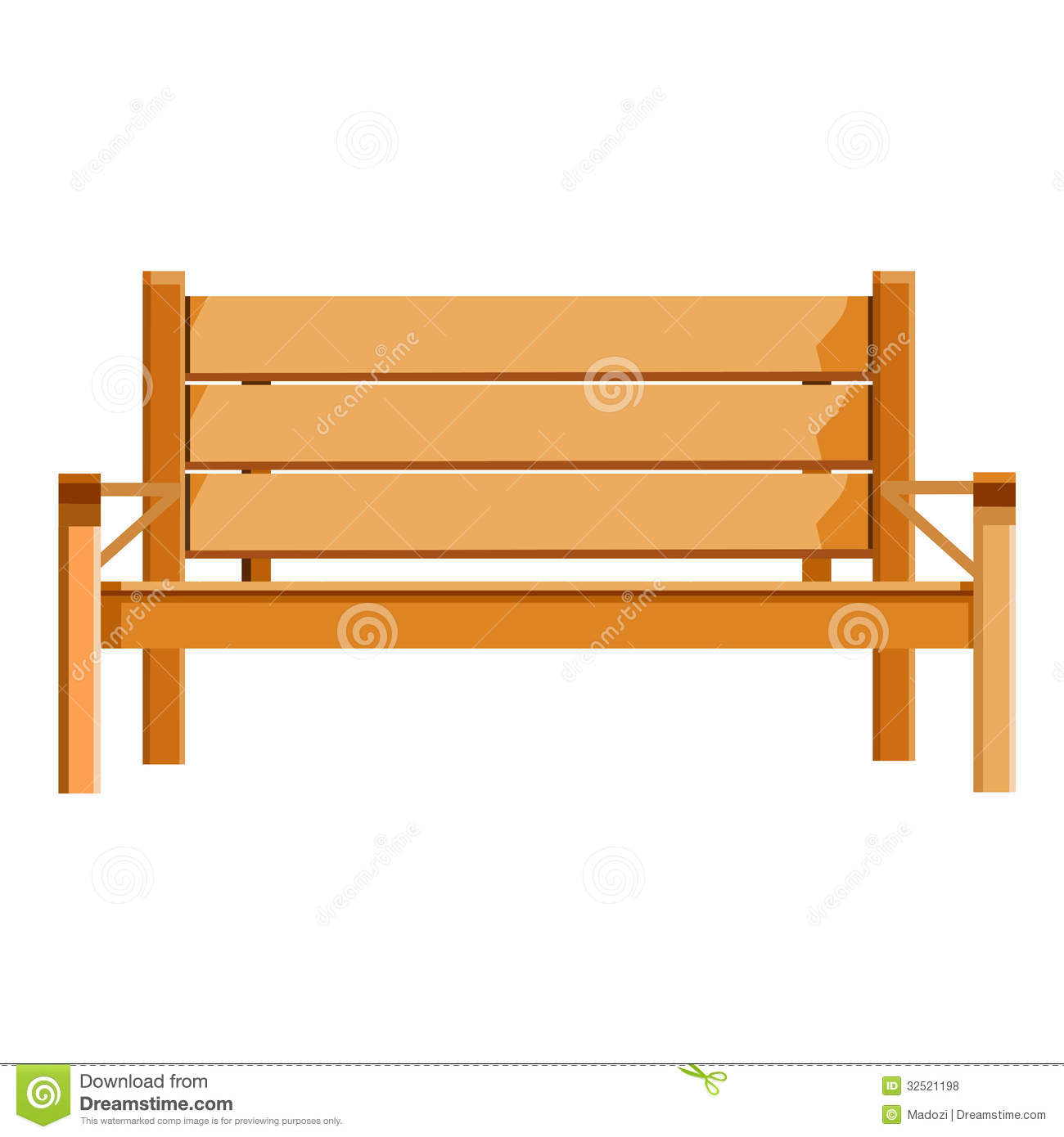 Wood Bench Clipart Clipground