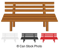 Wooden bench Stock Illustrations. 2,599 Wooden bench clip art.