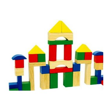 Wooden Blocks Clipart.