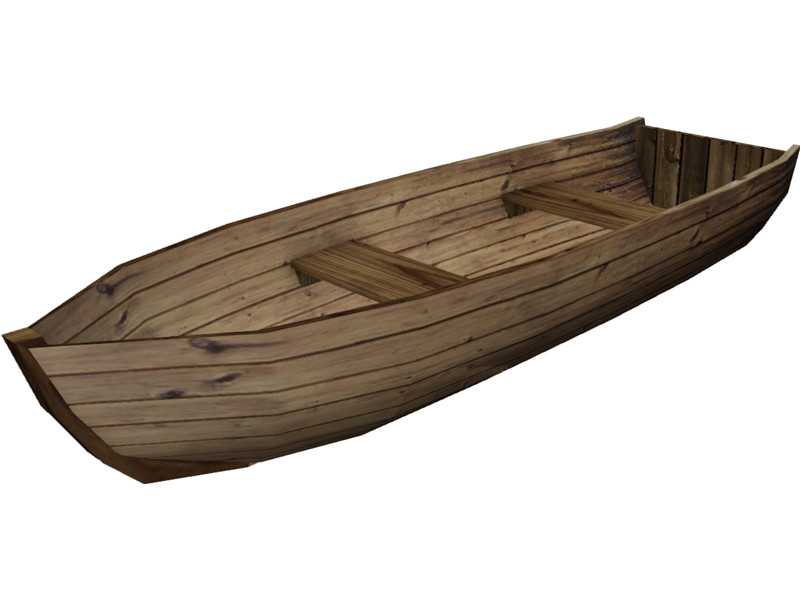 Wood Boat Clipart