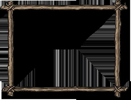Wood Border Clipart.