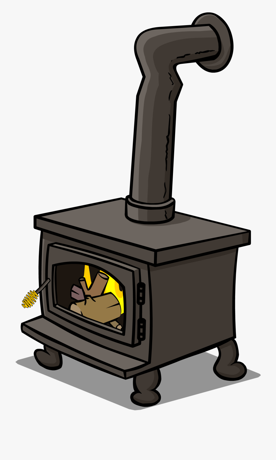 Old Wood Burning Stove Png , Free Transparent Clipart.
