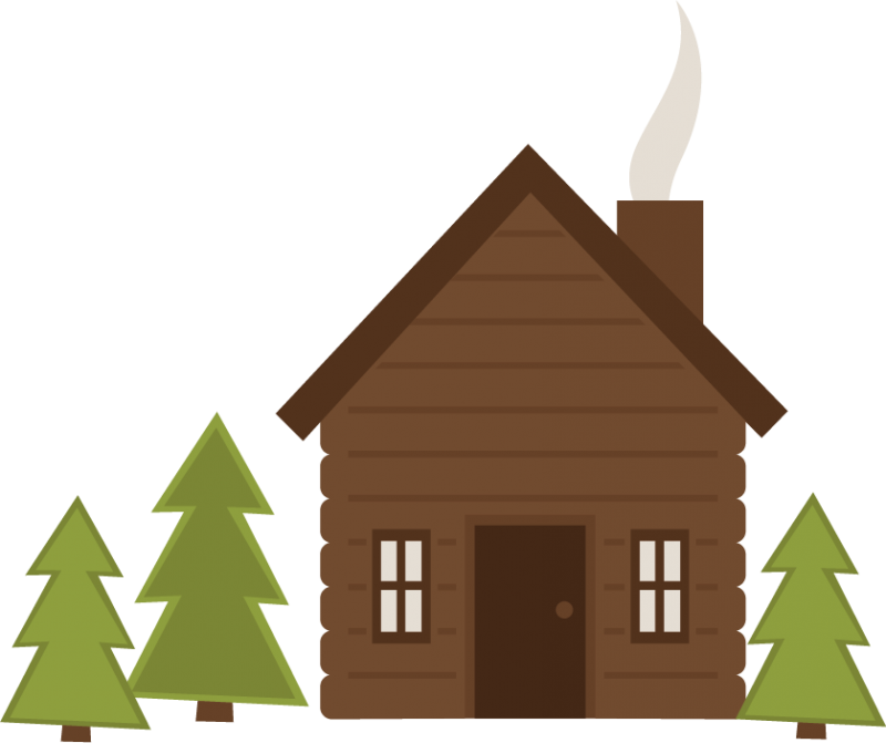 Log cabin clip art hostted.