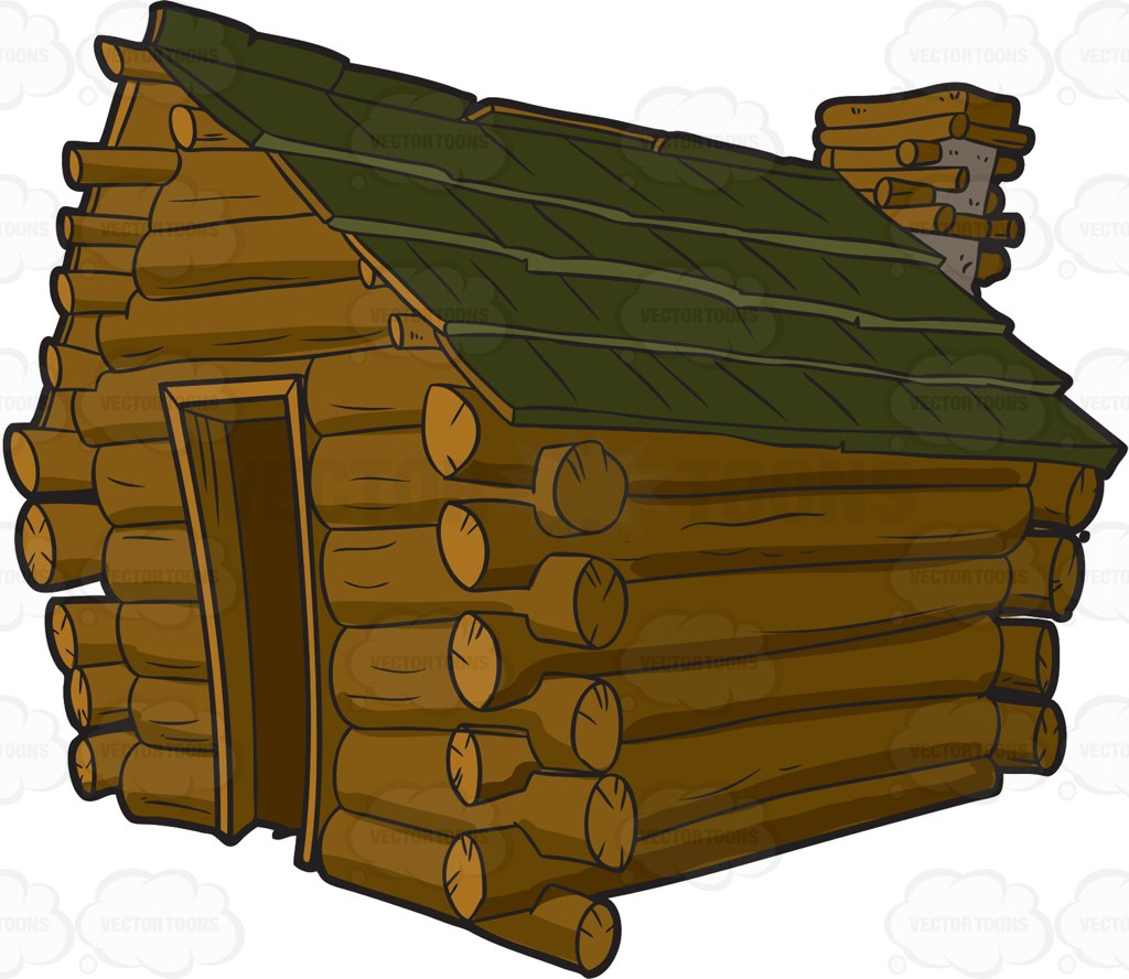 Wood cabin clipart clipground