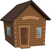 Log cabin Clip Art Royalty Free. 227 log cabin clipart vector EPS.