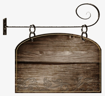 Free Wooden Sign Clip Art with No Background.