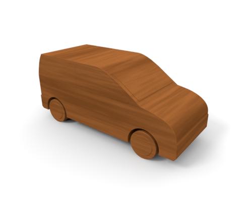 Wooden car clipart.