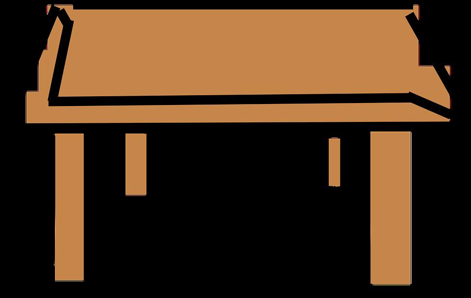Clipart wood car table.