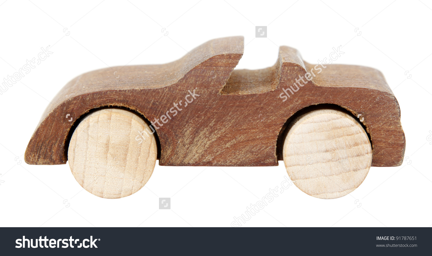 Old Wooden Car Toy Stock Photo 91787651 : Shutterstock.