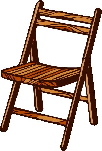 Wood Chair Clipart.