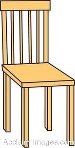 Chair Cartoon Clipart.