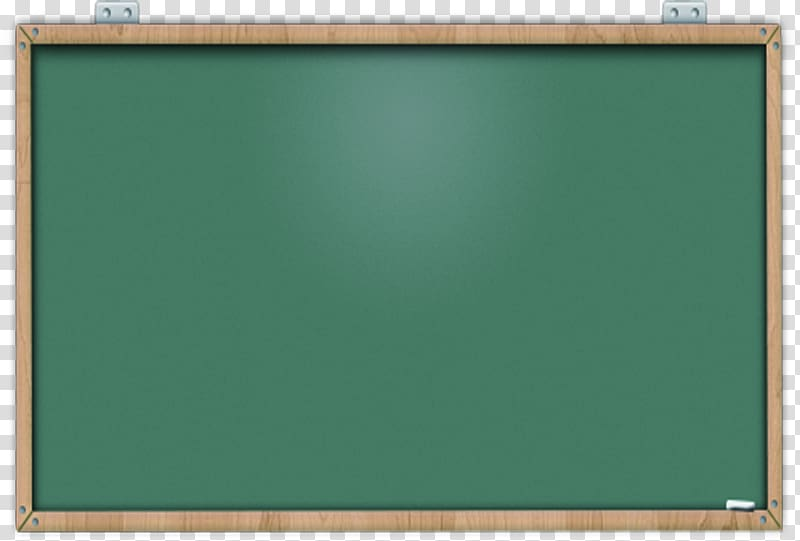 Brown framed green board illustration, Blackboard LocalTutor.