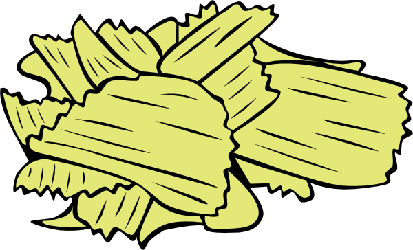 Potato chip clipart.