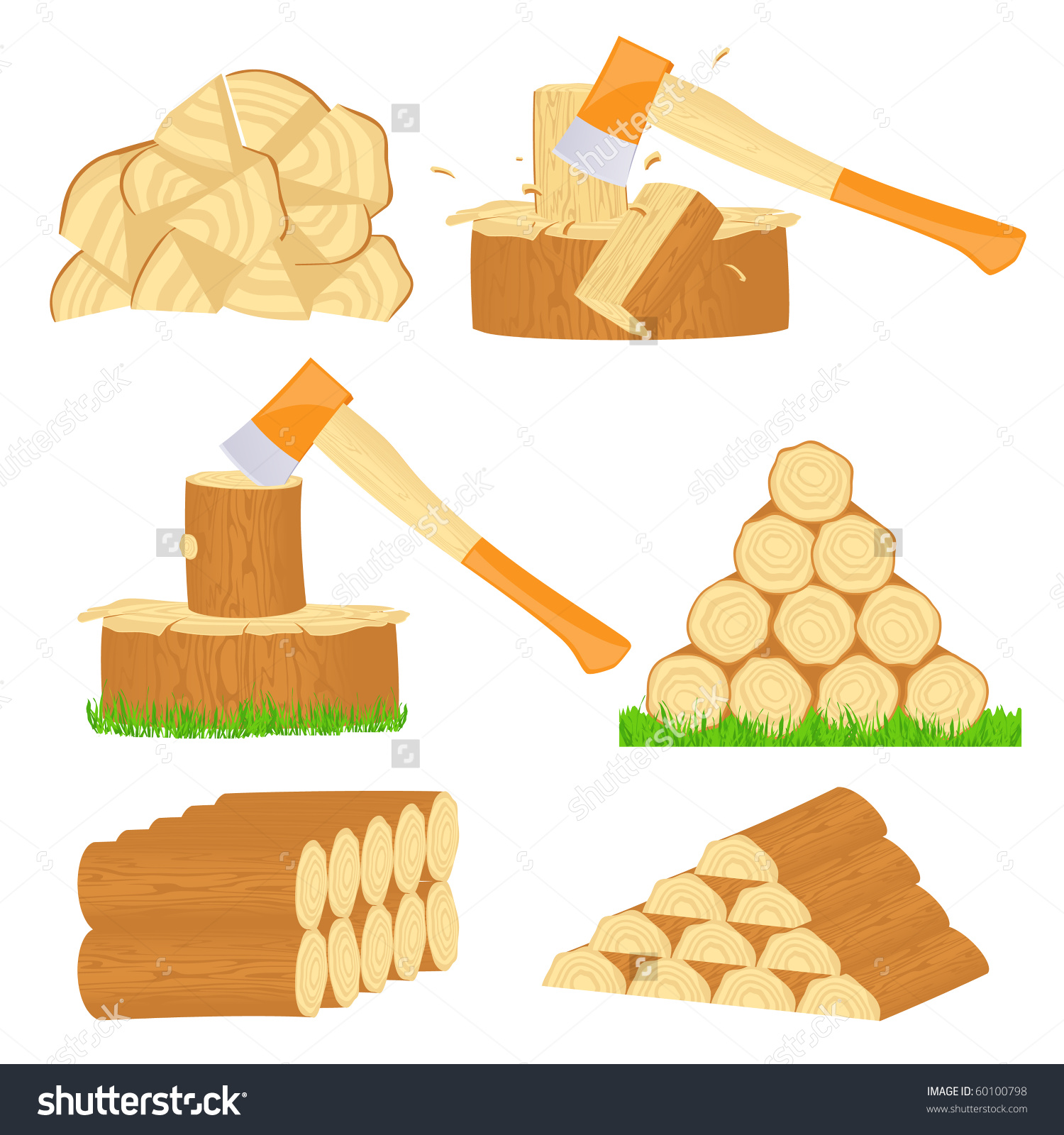 Wood chips clipart clipground