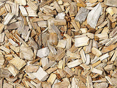 Wood Chip Stock Photos.