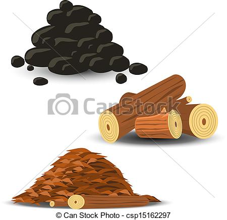 Wood chip clipart.