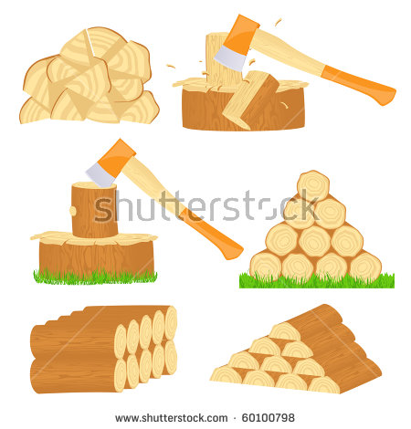 Wood Chips Stock Vectors, Images & Vector Art.