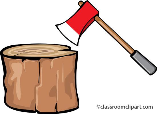 Chop wood clipart.