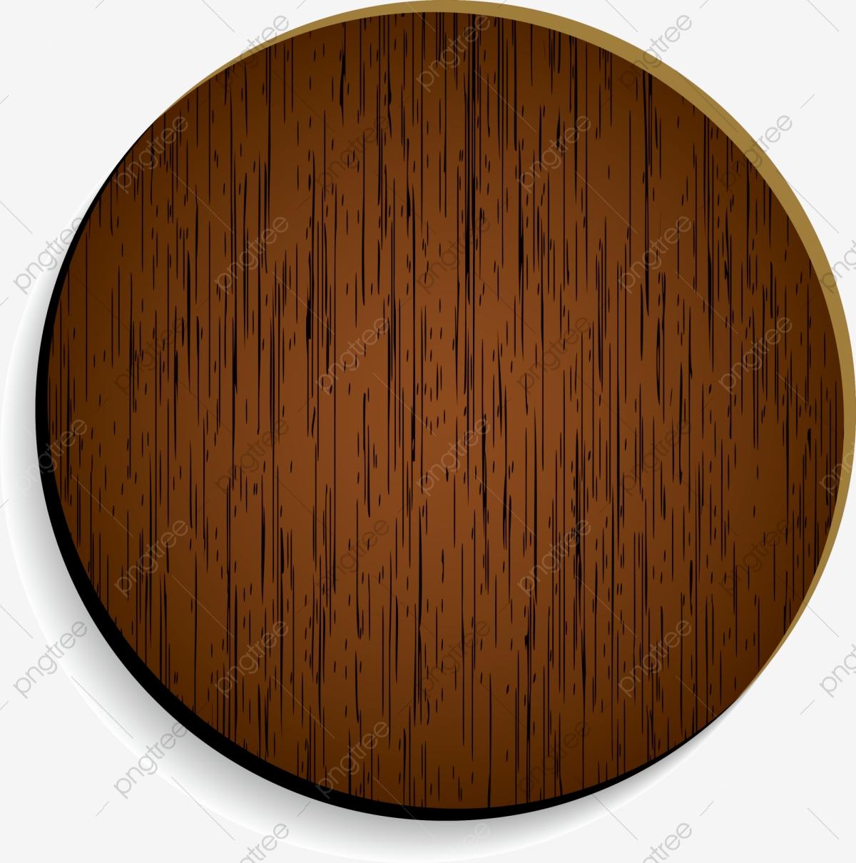 Brown Wooden Circle, Circle Clipart, Coffee, Circle PNG Transparent.