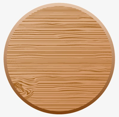 Board Wood, Round, Shading Borders, Floor PNG and Vector with.