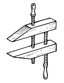 Clamp Clip Art Download.