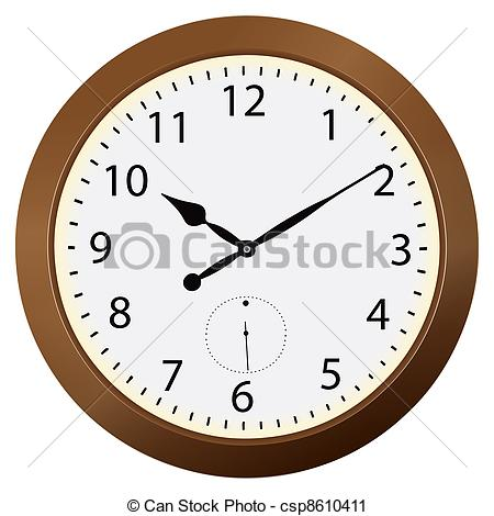 Clipart of Wall clocks.
