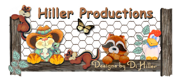Designs by Di Hiller.