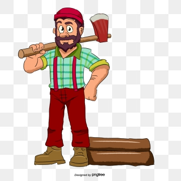 Woodcutter Png, Vector, PSD, and Clipart With Transparent Background.