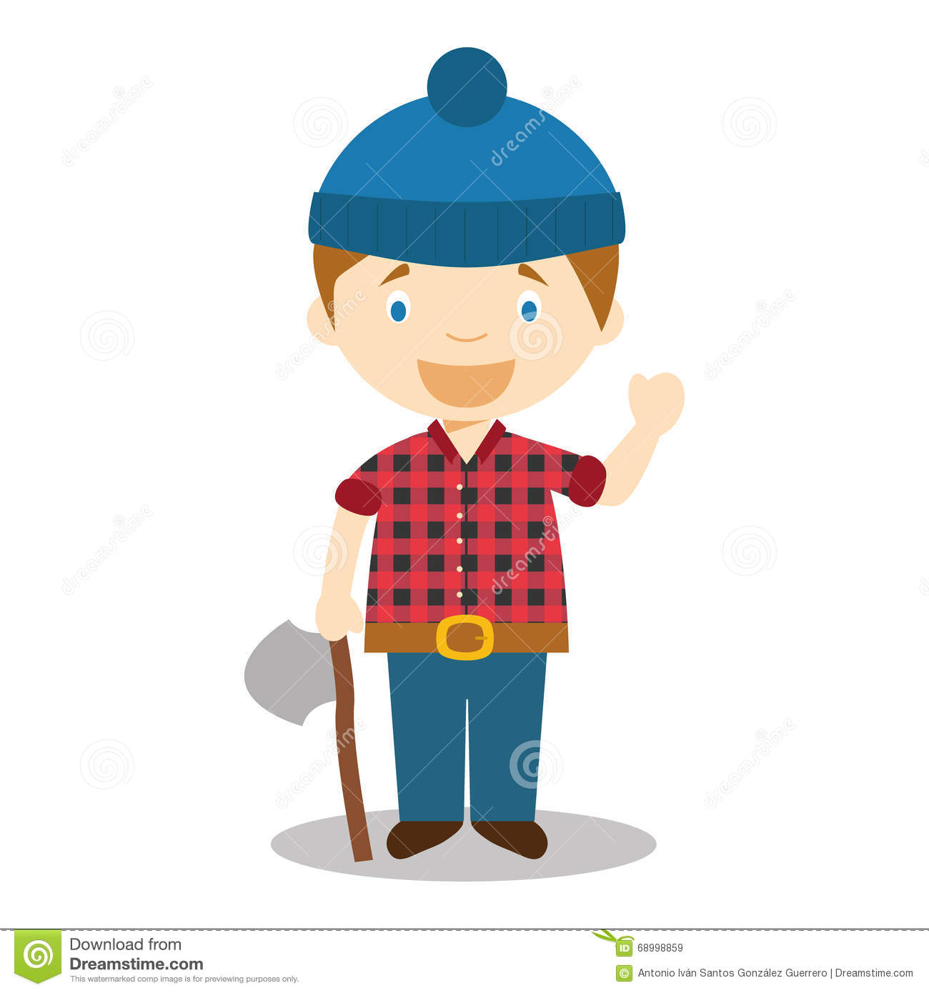 Wood cutter clipart 4 » Clipart Station.