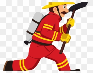 Firefighter Axe Transparent Image Clipart.