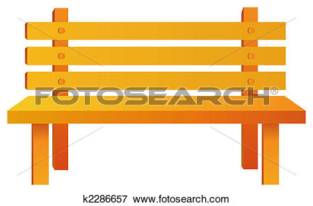 Stock Illustration of wood chair k2286657.
